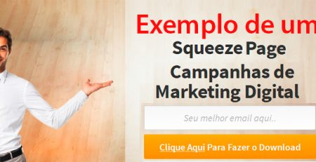 Agencia de Marketing Digital Criação de Squeeze Page