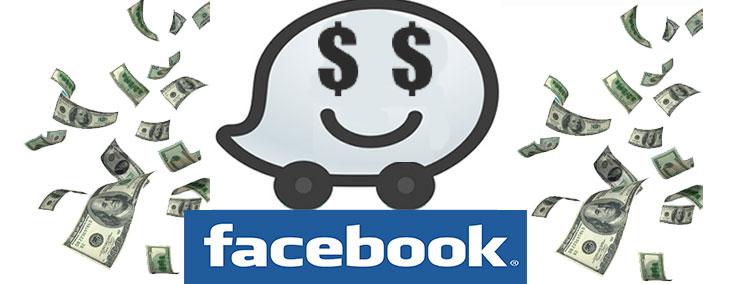 Facebook compra app Waze
